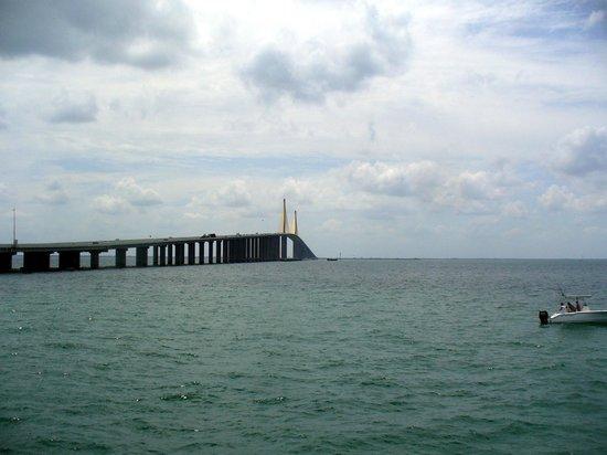 Sunshine Skyway Bridge: View of Skyway Bridge
