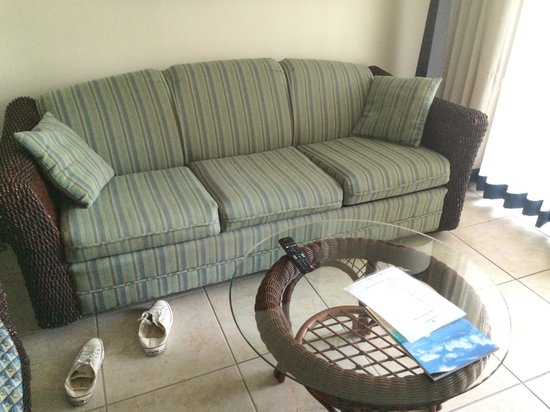 Flamingo Beach Resort: Pull out couch