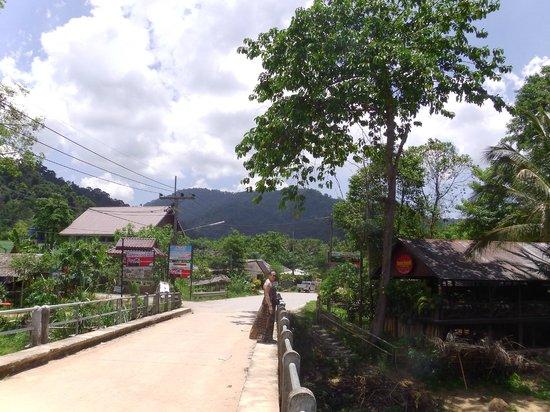 Khao Sok Valley Lodge : Main access road towards the park