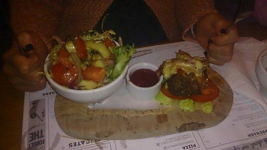 The Laundrette Chorlton: Carb free burger