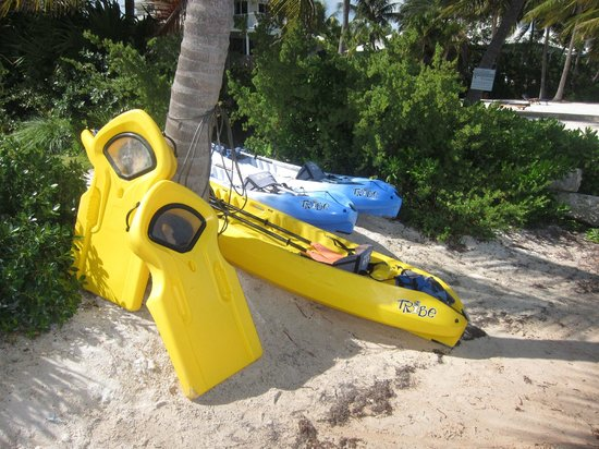 Ocean House: Kayaks and other equipment for your use