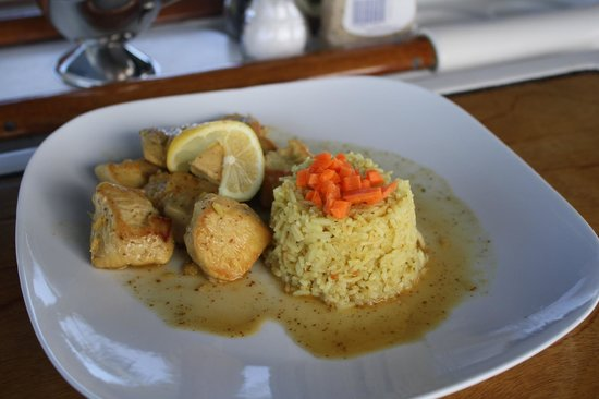 Adventure Caribbean Yacht Charter: Ginger Chicken - very flavorful