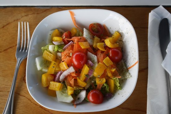 Adventure Caribbean Yacht Charter: Salad was fresh