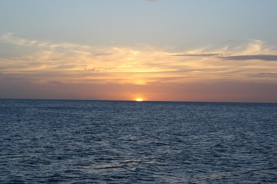 Adventure Caribbean Yacht Charter: the best sunset