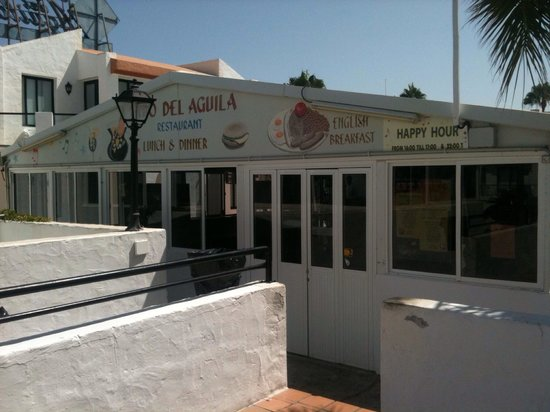Nido del Aguila Lara Apartments: The restaurant