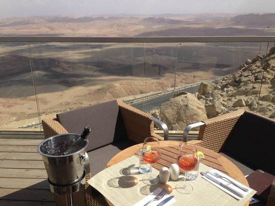 Beresheet Hotel by Isrotel Exclusive Collection: The view from the terrace outside the bar