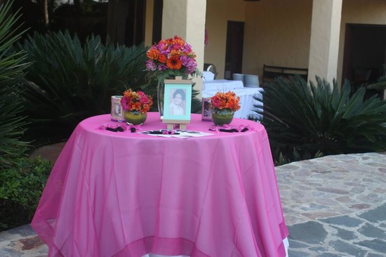 Coral Costa Caribe Resort & Spa: Welcome table