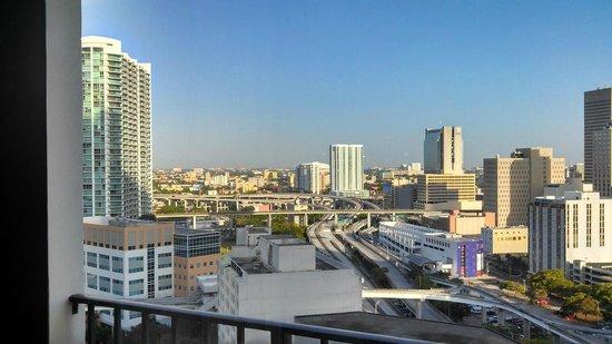Hyatt Regency Miami: View from my balcony on the 21st floor