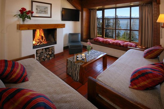 Pailahue Lodge & Cabanas : Living - Cabaña superior 4 pax
