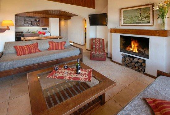 Pailahue Lodge & Cabanas : Living - Cabaña superior 6 pax