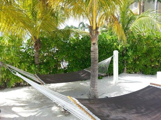 South Bay Beach Club: hammocks