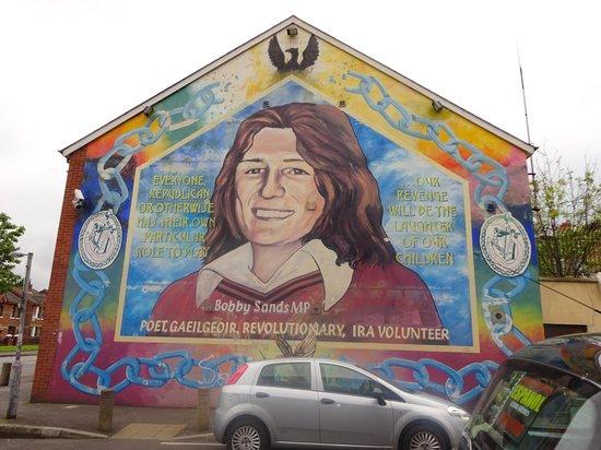 Belfast Mural Tours: Mural - Falls Road