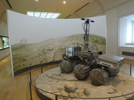 Musée des arts et métiers : lunar rover