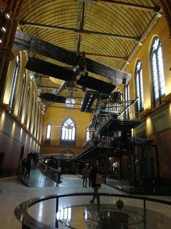 Musée des arts et métiers : old church part of the museum
