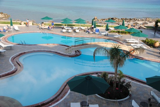 Mitsis Lindos Memories Resort Beach Hotel. : nice view swimming pool