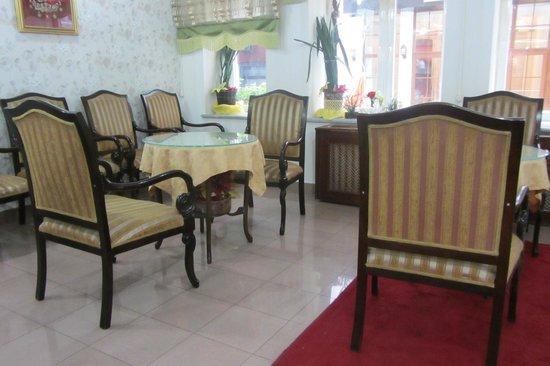 Hotel Emek : Место для отдыха, здесь же сервируется завтрак