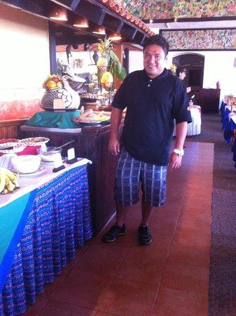 Hotel Montetaxco: comiendo en restaurante taxqueño