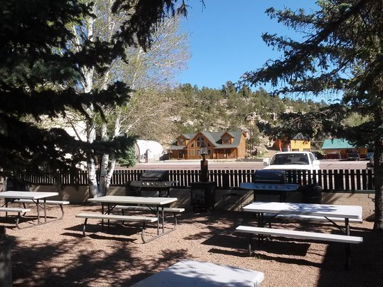 Buckskin Lodge : Fabulous Courtyard with 2 BBQ for Guest us