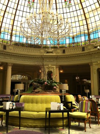The Westin Palace Madrid: Breakfast Buffet and Luncheon.