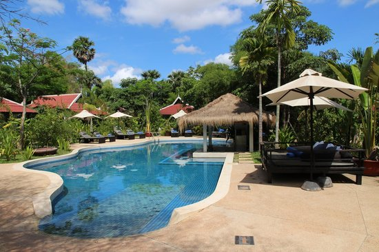Sojourn Boutique Villas : Pool Area