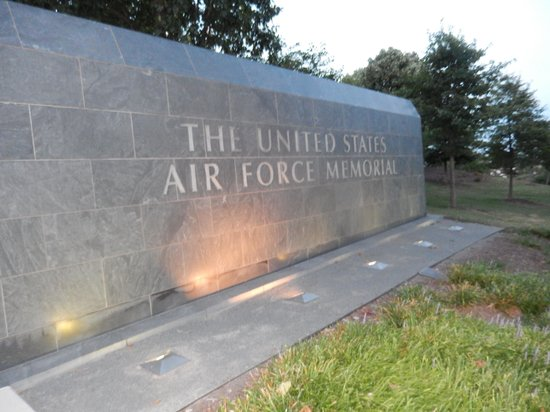 Entrance to the Air Force Memorial