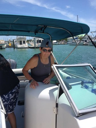 Elbow Grease Charters - Private Trips: Cori (one of the owners)
