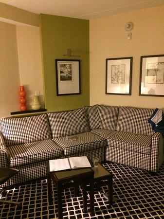 Fairfield Inn & Suites Elkin Jonesville: sitting area