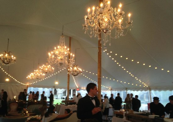 Fort Adams State Park: Wedding Tent