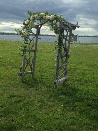 Fort Adams State Park: Wedding Arbor