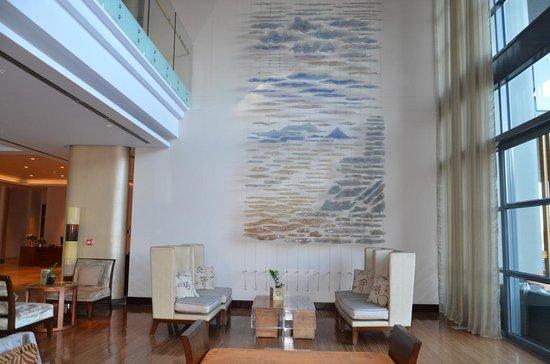 Lobby do hotel Hilton Windhoek-Namíbia