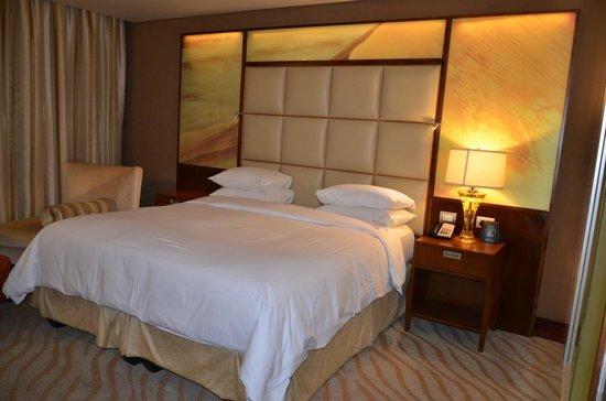 Quarto no hotel Hilton Windhoek-Namíbia