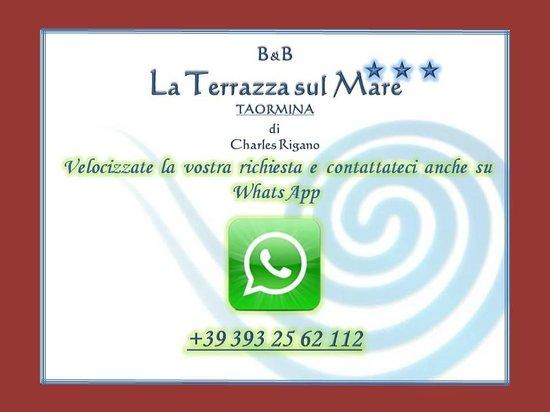 Contatto WhatsApp - Picture of B&B La Terrazza sul Mare, Taormina ...