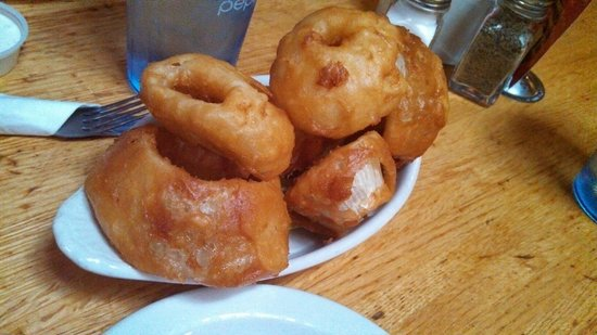 Buffalo Restaurant & Bar: Insane onion rings.