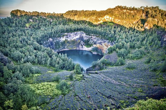 Ende Indonesia  city photos gallery : ... Lake Volcano Ende Flores Indonesia Wandervibes black lake