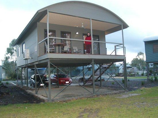 Moama on Murray Resort: Deluxe 3 bedroom Villa overlooking the Murray.