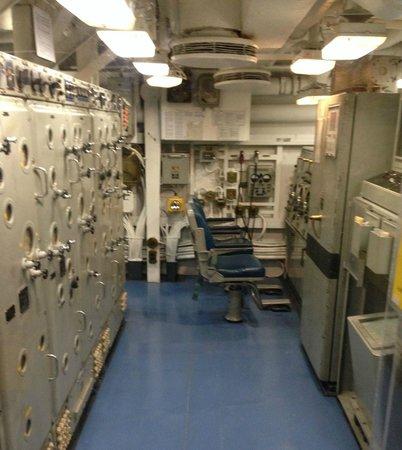 USS Turner Joy Museum Ship: Fire Control