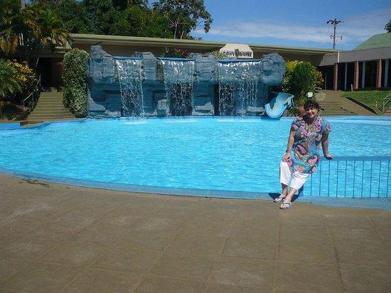 Exe Hotel Cataratas: cascada