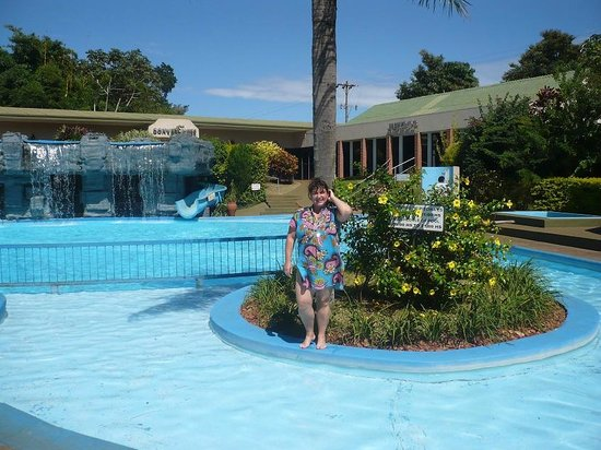 Exe Hotel Cataratas: isla en la piscina
