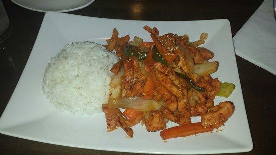 Korean Bulgogi House: Red Pepper Soy Chicken