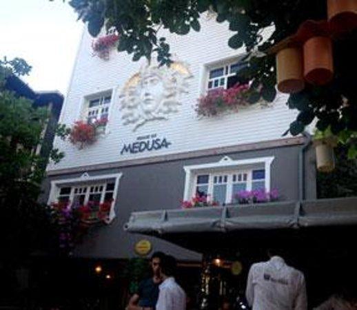 House of Medusa : Street view of restaurant