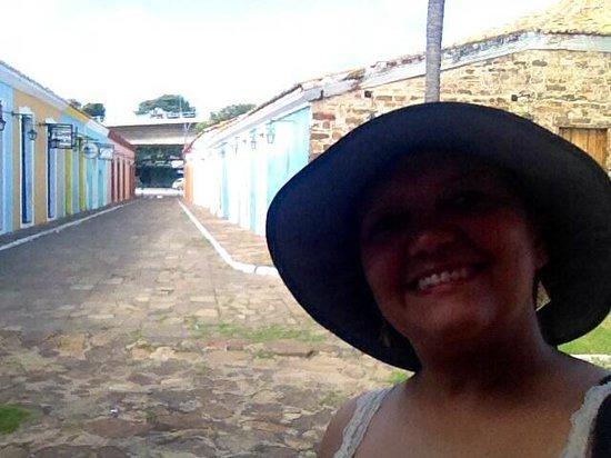 Pousada Porto das Barcas: Rua de acesso