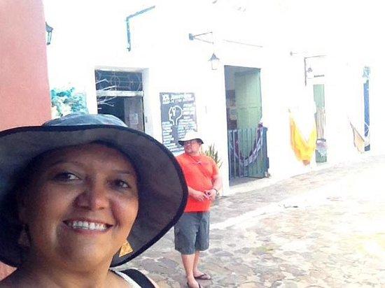 Pousada Porto das Barcas: Entrada