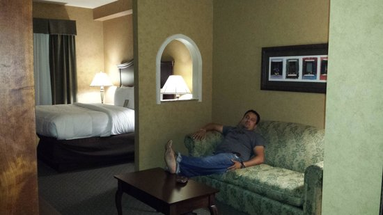 Comfort Suites Alamo/Riverwalk: This are the best hotel !!!! thanks for everything