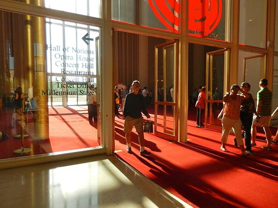 John F. Kennedy Center for the Performing Arts : Huge area where Jazz was being performed