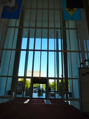 John F. Kennedy Center for the Performing Arts: Inside the main Hall - beautiful
