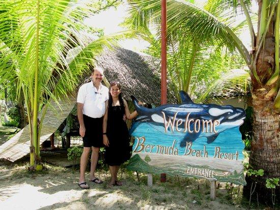 Bermuda Beach Resort Entrance