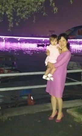 East Lake in Wuhan : En famille