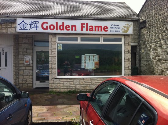 The Golden Flame: Easy parking