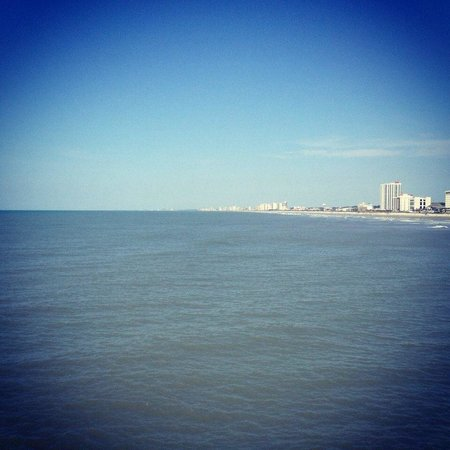 Cherry Grove Pier: View from the pier