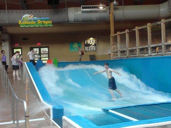 Split Rock Resort Indoor Waterpark: Split Rock Water Park